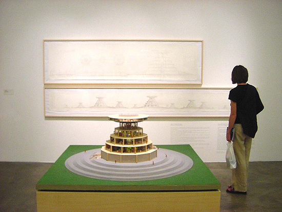 Carlos Garaicoa, Continuity of somebody's architecture, Installation view, Documentat 2011